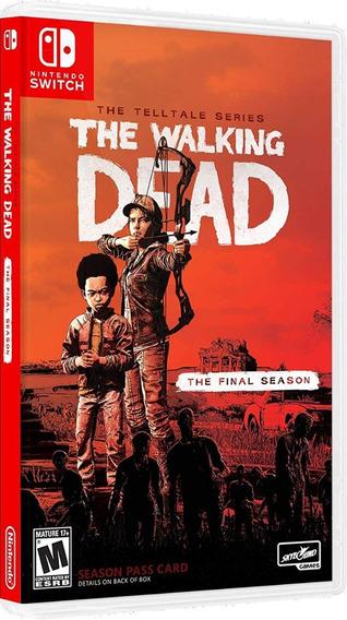 The Walking Dead The Final Season - Mídia Física - Switch