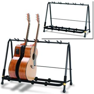 Multi-stand Hercules Tripie Estante Para 5 Guitarras Gs525b