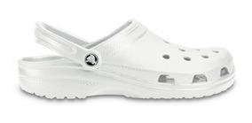 Zapato Crocs Infantil Classic K Blanco