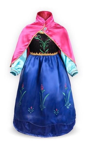 Vestido Anna De Frozen, Disney Store