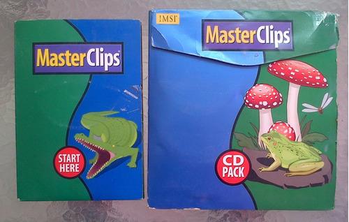 Imagen 1 de 6 de Imsi-masterclips - 500.000 Cliparts (28 Cds + Un Catálogo)
