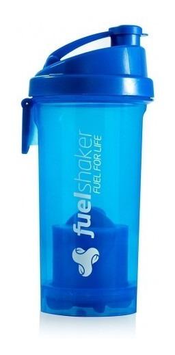 Coqueteleira Fuel Shaker 470ml C/ Compartimento Azul