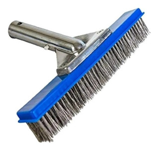 Cepillo Cerdas De Acero Inox. Mediano Alberca