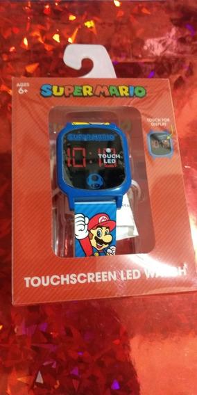 Reloj Supermario Bros Touchscreen