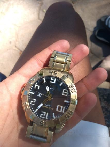 Relógio Technos Dourado Original