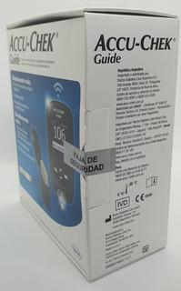 Glucometro Accu Chek Guide Kit Nuevo Cerrado Con Punzador