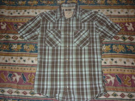 E Camisa Hollister Cuadrille Art 1854