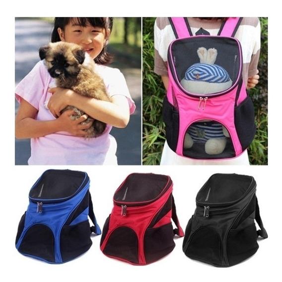 Mochila Bolsa De Transporte Para Caes Gatos Passeio Pet Dog