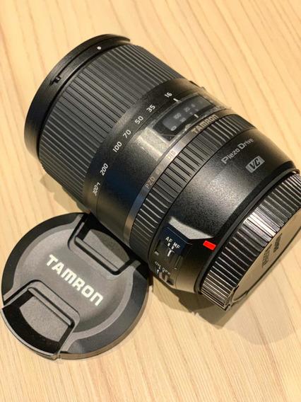 Lente Objetiva Tamron 16-300mm F/3.5-6.3 Macro Canon Ef