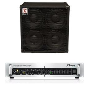 Kit Cabeçote Baixo Bugera Bvp5500 +gabinete Eden Ex410sc4