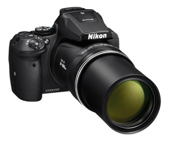 Nikon P900 83x Vr, 16.mp Gps+wifi+32gb+bolsa, Tripé 37 Op