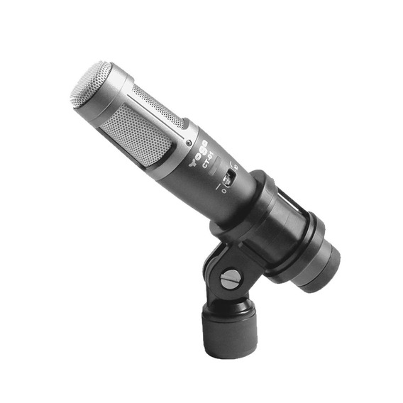 Microfone P/ Instrumentos C/ Fio Condensador - Ct 01 Yoga
