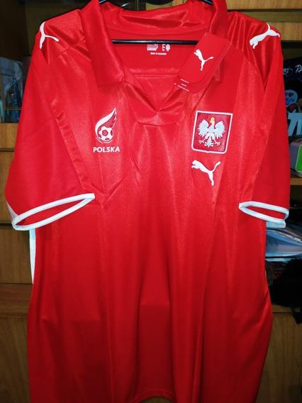 Camiseta Puma De La Selección De Polonia! Talle Xl
