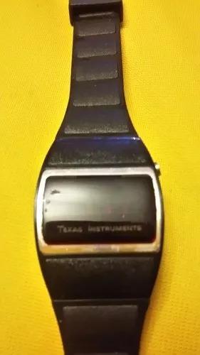 Reloj De Pulsera Vintage Texas Instruments Led 70s