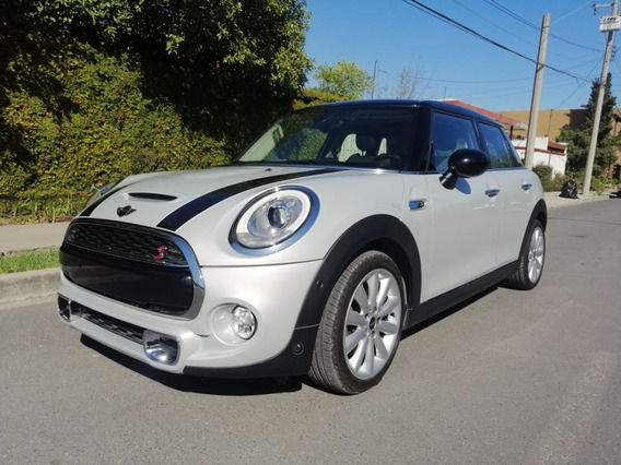 Mini Cooper S Chili 2018, Plata, Un Dueño, Factura Original