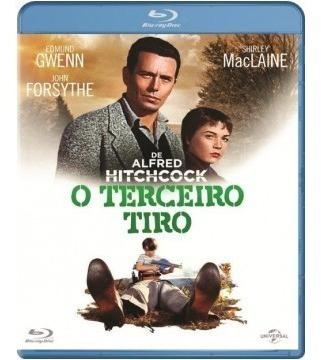 Blu-ray O Terceiro Tiro ( Alfred Hitchcock) Shirley Maclaine