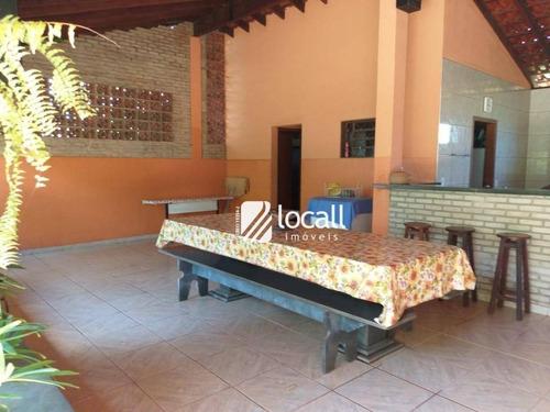 Chácara Com 2 Dormitórios À Venda, 1000 M² Por R$ 300.000,00 - Estância São Manoel (zona Rural) - São José Do Rio Preto/sp - Ch0055
