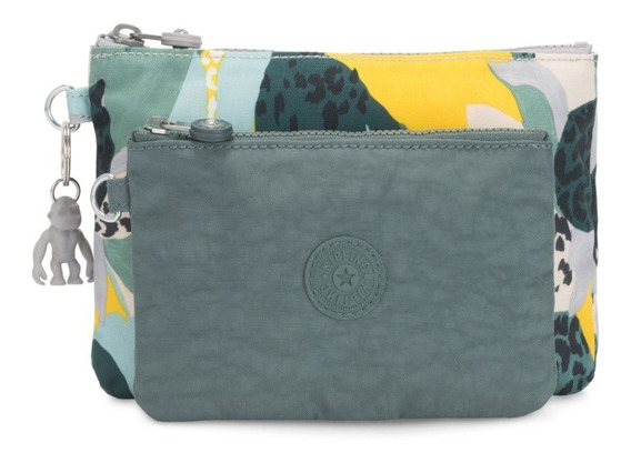 Necessaire Dupla Kipling Duo Puch Urban Jungle