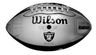 Balon Futbol Americano Jr Tpu/ug Oakland Raiders Wilson