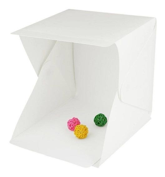 Mini Estudio Fotográfico Cubo Pegable Estructura Magnetica