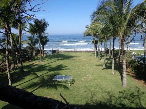 Imagem 1 de 30 de Casa Pé Na  Areia  Em Guarujá - 200008 - 2814855