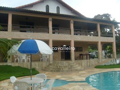Casa Residencial À Venda, Retiro, Maricá - Ca3011. - Ca3011