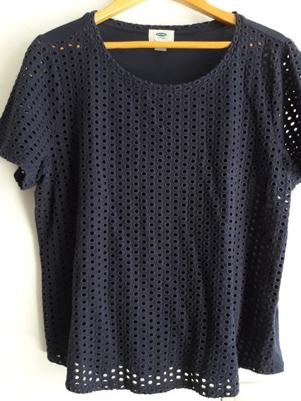 Remera Old Navy Mujer Talle L Calada
