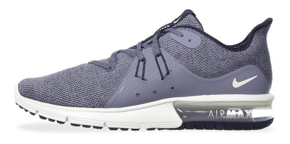 Tenis Deportivo Hombre Nike Air Max Sequent 3 Azul 402