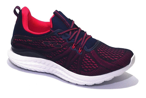 Zapatillas Olympikus Modelo Damas Fitness Flux - (8900)