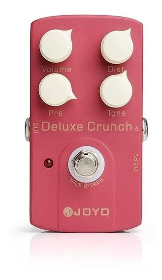 Pedal Para Guitarra Joyo Deluxe Crunch Jf 39 + Nf E Grtia