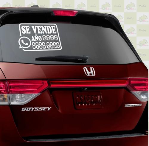 Vinilos Stickers Se Vende Para Carros Moto Medida 35x20cms