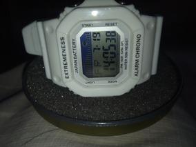 Relógio Skmei Branco Masculino