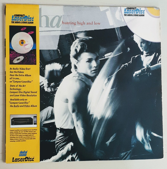 Laserdisc A-ha Hunting High And Low