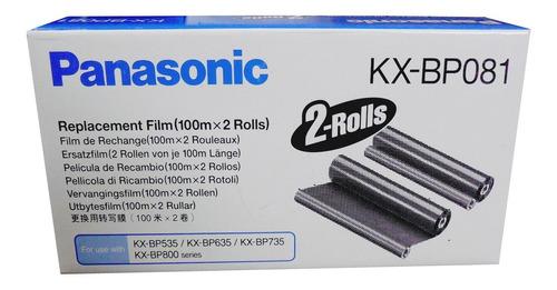 Panasonic Kx-bp081 2 Rollos Fax