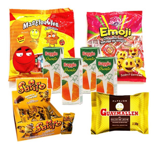 005 - Combo Golosinas Cumpleaños - Lollipop - 40 Chicos