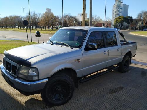 Imagen 1 de 13 de Ford Ranger 2.5 Xlt I Dc 4x4 2002