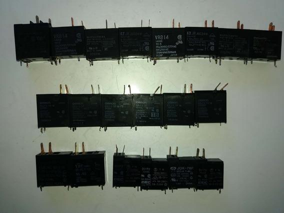 Kit 20 Reles De Microondas Diversos 12v 14v 18v 24v