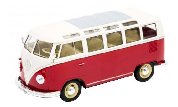 Welly Volkswagen T1 Bus 1963 Escala 1.24 Rojo
