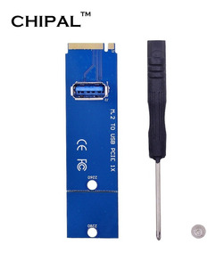 Adaptador Conversor Ngff M.2 Usb 3.0 Mineração Riser Rig Btc