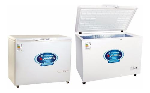 Freezer Horizontal James 410l Doble Acción Heladera Freezer