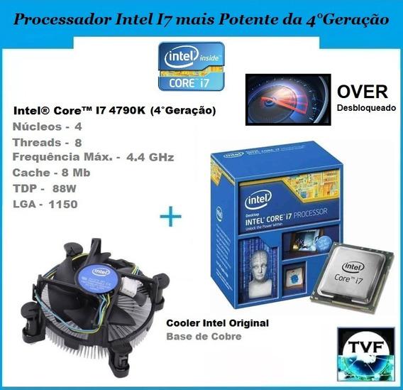Processador Top Intel I7 4790k 4c/8t Turbo 4,4ghz (caixa)