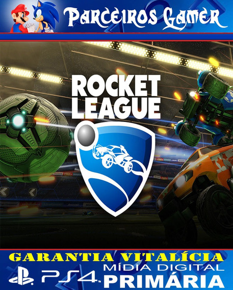 Rocket League - Liga De Foguete - Ps4 1 - Mídia Digital