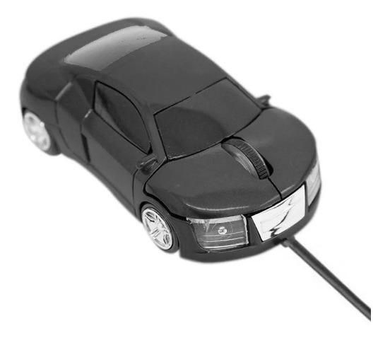 Mini Mouse Óptico Carrinho Com Cabo Retrátil Usb 1200dpi