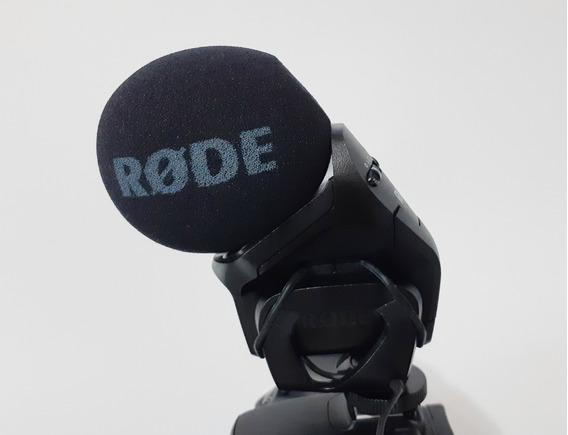 Microfone Para Dslr - Rode Stereo Videomic Pro