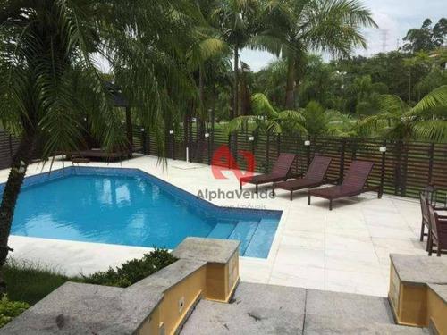 Imagem 1 de 30 de Casa Com 5 Dormitórios, 1100 M² - Venda Por R$ 12.000.000,00 Ou Aluguel Por R$ 38.000,00/mês - Residencial Dois (tamboré) - Santana De Parnaíba/sp - Ca6191