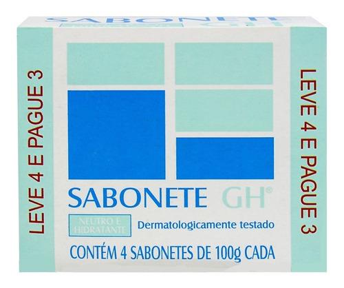Sabonete Gh Leve 4 Pague 3 - Neutro E Hidratante