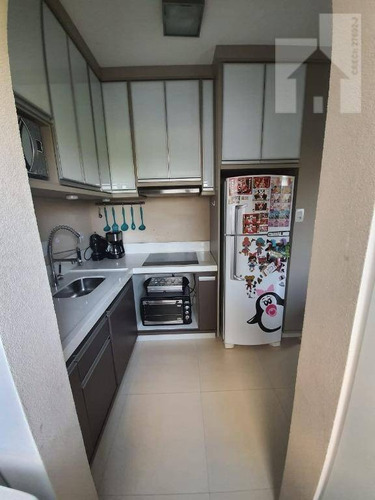 Apartamento Mobiliado Com 2 Dormitórios À Venda, 57 M² - Vivarte Colônia - Jundiaí/sp - Ap1708