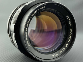 Konica Hexanon Ar 57mm F1.4 Impecable