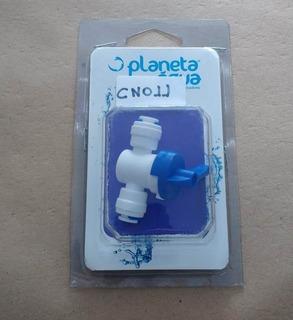 Válvula De Fechamento Tubo De 1/4 Para 1/4 - Planeta Água