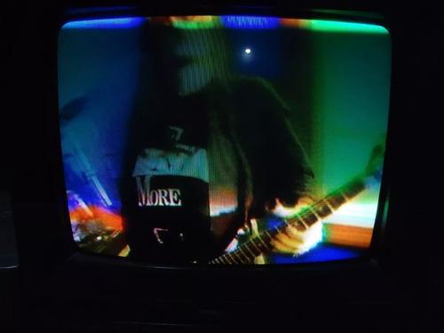 Antiga Tv Tubo 14'' Polegadas Broksonic Colorida Barato